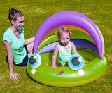 Opblaasbaar baby zwembad kikker_