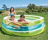 Opblaaszwembad doorzichtig_