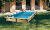 Goedkoop inbouw zwembad Woodlux_