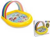 Kleurrijk Regenboog Zwembad_