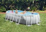 Ovaal Intex opzetzwembad_