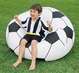 Opblaasbare voetbal stoel_