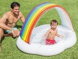 Regenboog babyzwembad_