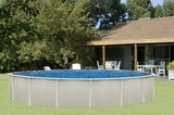 Opbouw zwembaden Interline Aruba_
