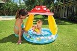 Baby badje paddestoel met dakje_