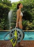 Slanghaspel voor zwembadslang_