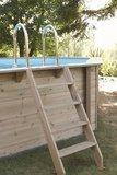 Goedkoop houten zwembad Azura_