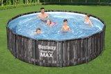 bestway power steel frame pool