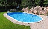 interline sunlake inbouwzwembad in tuin