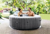 Intex PureSpa Bubble Greywood_