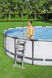 diep opzetzwembad zwembadtrap