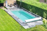 Zelf Infiniteau zwembad bouwen