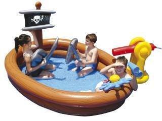 Groot Piraten kinderzwembad