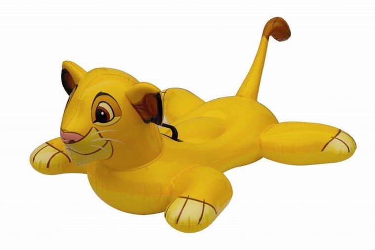 Opblaasbed Lion King