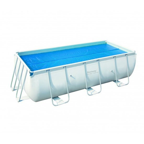 Zomerafdekzeil rechthoekig zwembad 400 x 200