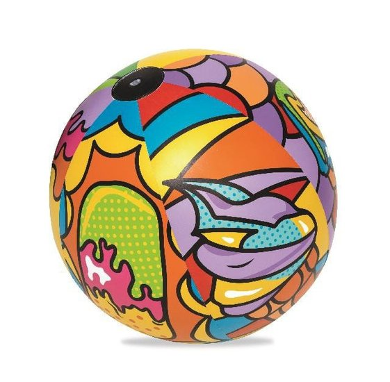 Pop beach ball