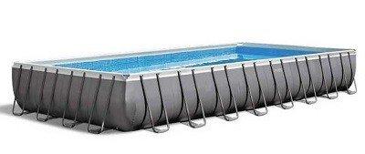 Super groot zwembad intex ultra frame pool