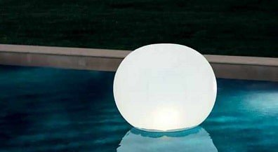 Opblaasbare globe met ledverlichting