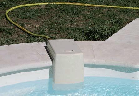 Niveauregelaar voor inbouwzwembad