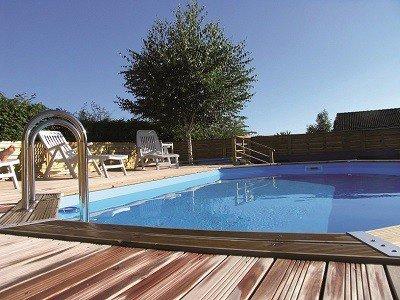 Klein houten zwembad Ubbink