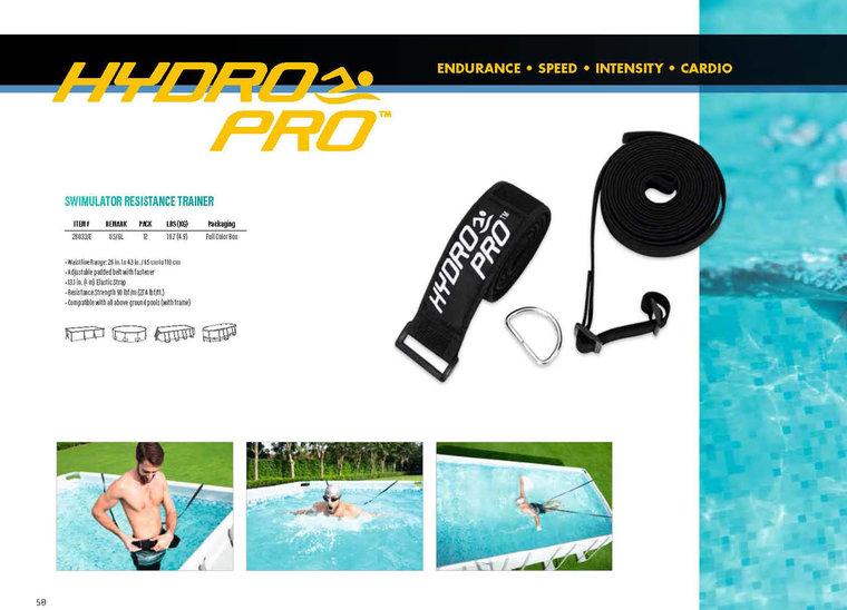 Zwemelastiek voor zwemtraining