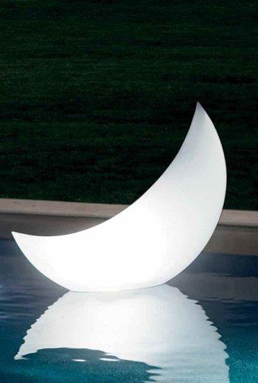Opblaasbare led-verlichting halve maan