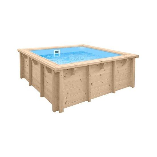 Mini houten zwembad