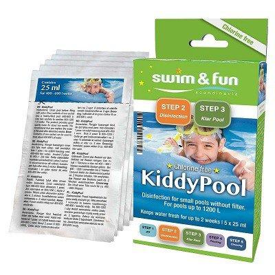 Kiddy pool waterhygiene