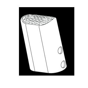 Eindkapje u-vormige buis Intex Ultra Frame