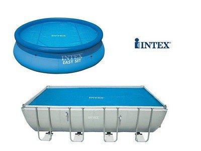 Intex solar cover
