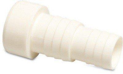 Slangtule wit 50 mm naar 38 en 32 mm