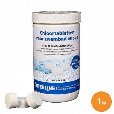 Chloortabletten 20 gram, 1 kg