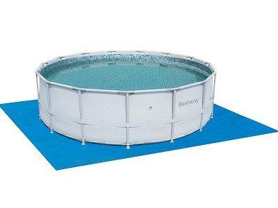 Grondzeil zwembad
