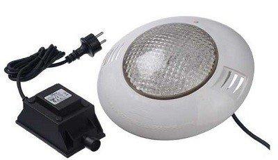 Witte LED lamp voor inbouwzwembad
