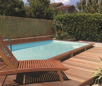 Gardipool Quartoo houten zwembad