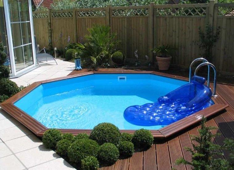 Gardipool Octoo houten zwembad