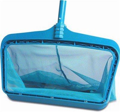 Bladschepnet voor grotere zwembaden