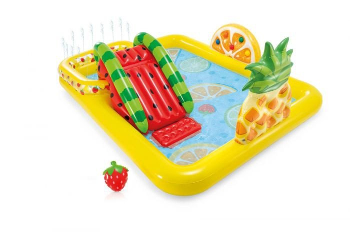 Fruitig zwembad speelcentrum