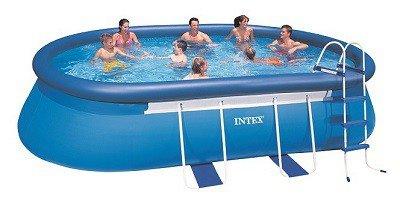 Intex Super Tough groot opblaaszwembad