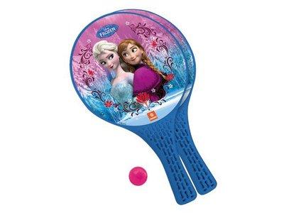 Frozen beachbal tennisset