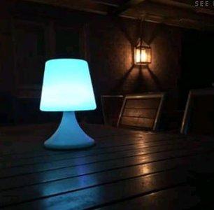 Tafellamp Buiten