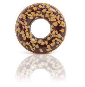 Chocolade donut opblaasbaar