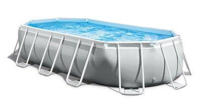 Ovaal Intex opzetzwembad