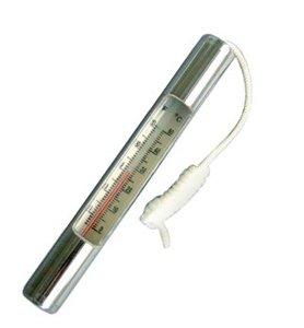 Verchroomde thermometer