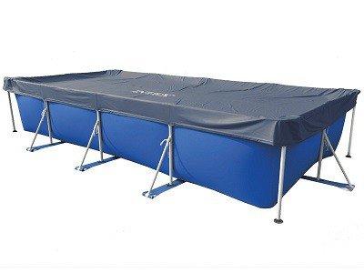 Afdekzeil Intex rectangular 450 x 220