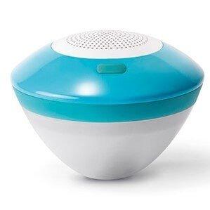 Drijvende bluetooth speaker met LED licht