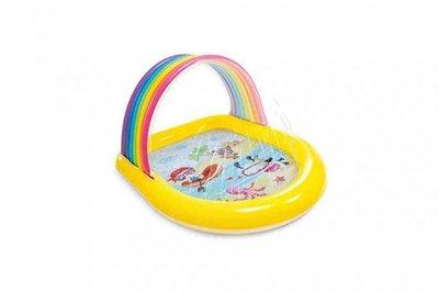 Kleurrijk Regenboog Zwembad