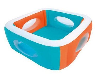 Kinderzwembad met ramen