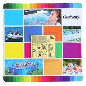 Zwembad plakkers voor onder water