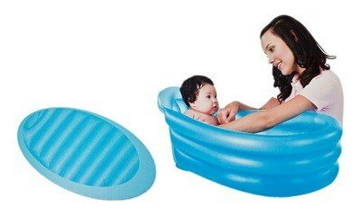 Tummy baby tub